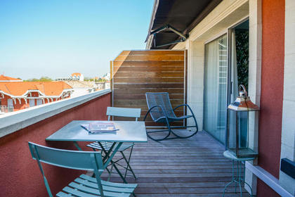 Deluxe Terrace Room by Hôtel Villa-Lamartine - Your Charming 3 star Hotel in Arcachon