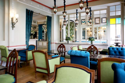 Breakfast Room of Hotel Villa-Lamartine - Charming 3 Stars hotel in Arcachon