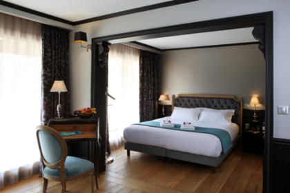 Prestige Terrace Suite Overview Image - Your charming 3 star hotel Arcachon